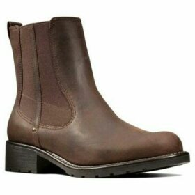 Clarks  Orinoco Hot Womens Chelsea Boots  women's Low Ankle Boots in Brown