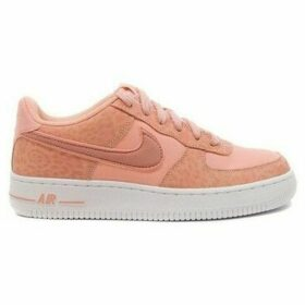 Nike  Air Force 1 LV8 GS  women's Shoes (Trainers) in Orange
