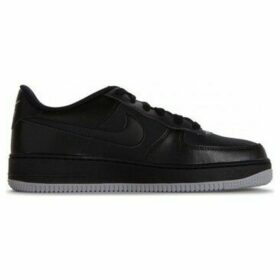 Nike  Air Force 1  women's Shoes (Trainers) in Black