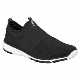 Regatta  Marine Trainers Black  women's Slip-ons (Shoes) in Black