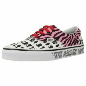 Vans  UA ERA  women's Shoes (Trainers) in Pink