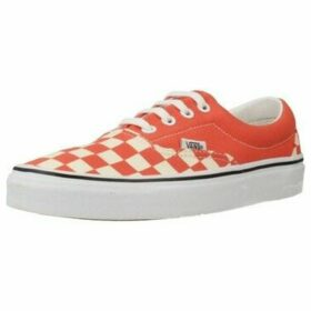Vans  UA ERA CHECKERBOARD  women's Shoes (Trainers) in Orange