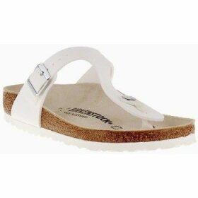 Birkenstock  Gizeh  women's Flip flops / Sandals (Shoes) in White