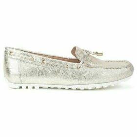 Geox  Leelyan  women's Loafers / Casual Shoes in Gold
