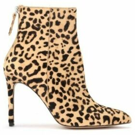 Steve Madden  Daisie ankle boot in leopard leather  women's Low Ankle Boots in Other