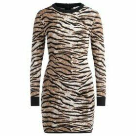 MICHAEL Michael Kors  Abito in tessuto animalier  women's Dress in Beige