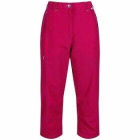 Regatta  Chaska Capri Walking Trousers Pink  women's Cropped trousers in Pink