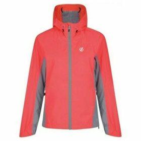 Dare 2b  Surround Lightweight Packaway Waterproof Shell Jacket Orange  women's Jacket in Orange