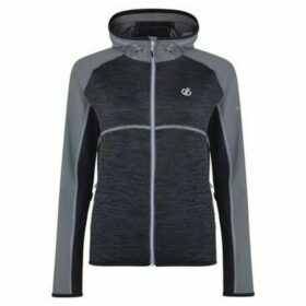 Dare 2b  Courteous Lightweight Hooded Core Stretch Midlayer Grey  women's Sweatshirt in Grey