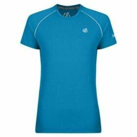 Dare 2b  Instate Wool T-Shirt Blue  women's T shirt in Blue