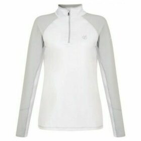 Dare 2b  Involved Core Stretch Half Zip Midlayer White  women's Blouse in White