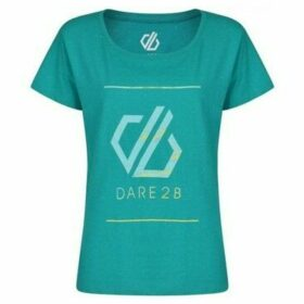Dare 2b  Glow Up Printed T-Shirt Green  women's T shirt in Green