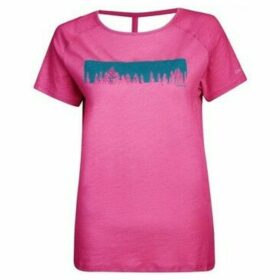 Dare 2b  Astral Forest Cutout Neck T-Shirt Pink  women's T shirt in Pink