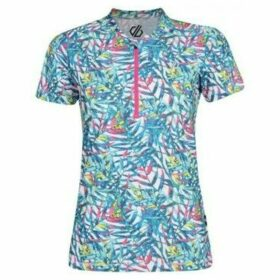 Dare 2b  Theory Cycling Jersey Blue  women's Polo shirt in Blue