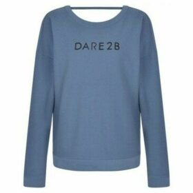 Dare 2b  Resilience Cutout Neck Sweater Grey  women's Sweatshirt in Grey