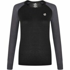 Dare 2b  Exchange Long Sleeved Thermal Base Layer Top Black  women's Blouse in Black
