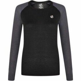 Dare 2b  Exchange Long Sleeved Thermal Base Layer Top Black  women's Blouse in Black