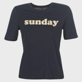 Only  ONLSANNE  women's T shirt in Blue