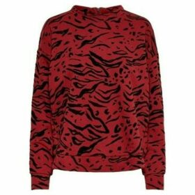 Only  SUDADERA DE MUJER  women's Sweatshirt in Red