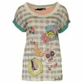 Love Moschino  T-shirt short sleeves Women W 4 E18 01  M 3049  women's T shirt in multicolour