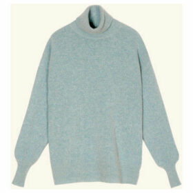 Frnch  Long-sleeved turtleneck sweater in knit NARY  women's Sweater in Blue