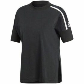 adidas  Zne  women's T shirt in Black