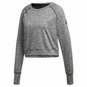 adidas  Open Back CU  women's Sweatshirt in Grey