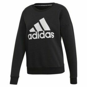 adidas  MH Bos Crew  women's Sweatshirt in Black
