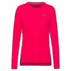 Asics  Seamless LS  women's T shirt in Pink