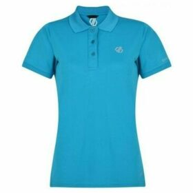 Dare2b  Set Forth Polo Shirt Blue  women's Polo shirt in Blue