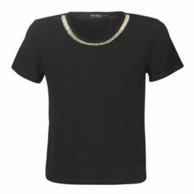 Guess  SS CN LEANNA TOP  women's T shirt in Black
