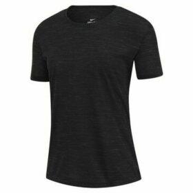 Nike  Dry Tee Legend  women's T shirt in Black