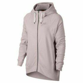 Nike  Modern Hoodie  women's Sweatshirt in Pink