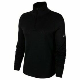 Nike  Sphere Womens Halfzip Running Top  women's Sweatshirt in Black