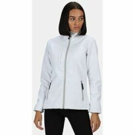 Professional  Octagon II Printable 3 Layer Membrane Softshell Jacket White  women's Sweatshirt in White