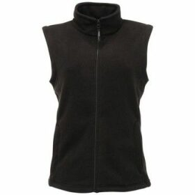 Professional  Micro Fleece Bodywarmer Black  women's Sweater in Black