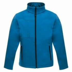 Professional  Octagon II Printable 3 Layer Membrane Softshell Jacket Blue  women's Sweatshirt in Blue