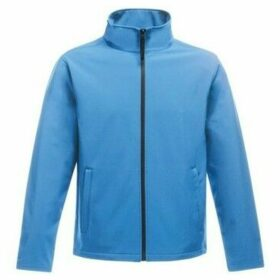 Professional  Ablaze Printable Softshell Jacket Blue  women's Sweatshirt in Blue