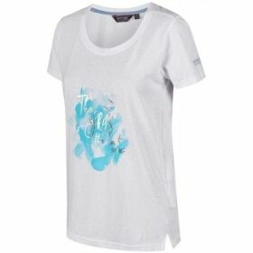 Regatta  Filandra III Graphic T-Shirt White  women's T shirt in White