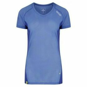 Regatta  Volito III Ultra Lightweight T-Shirt Blue  women's T shirt in Blue