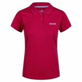 Regatta  Maverick IV Pique Polo Shirt Pink  women's Polo shirt in Pink