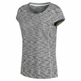 Regatta  Hyperdimension Quick Dry T-Shirt Grey  women's T shirt in Grey
