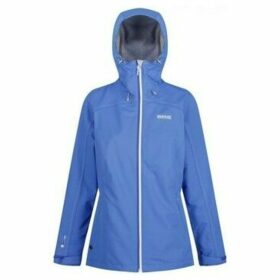 Regatta  Hamara II Lightweight Waterproof Jacket Blue  women's Sweatshirt in Blue