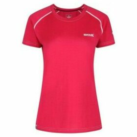 Regatta  Tornell Super Soft T-Shirt Pink  women's T shirt in Pink
