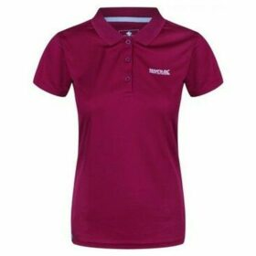 Regatta  Maverick IV Pique Polo Shirt Purple  women's Polo shirt in Purple