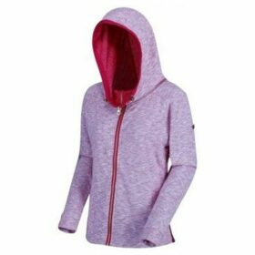 Regatta  Ramira Full Zip Fleece Hoodie Pink  women's Sweatshirt in Pink
