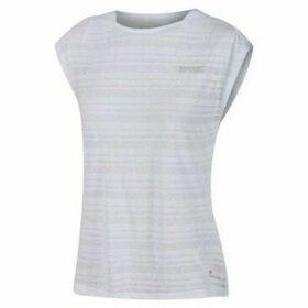 Regatta  Limonite III Active T-Shirt White  women's Vest top in White