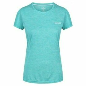 Regatta  Fingal IV Quick Drying T-Shirt Blue  women's T shirt in Blue