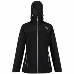 Regatta  Oklahoma IV Reflective Waterproof Jacket Black  women's Sweatshirt in Black