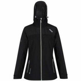 Regatta  Oklahoma IV Reflective Waterproof Jacket Black  women's Sweatshirt in Black